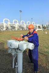 Worker opening bypass valve