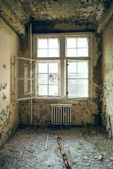 dilapidated rooms