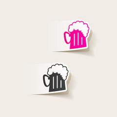 realistic design element: beer