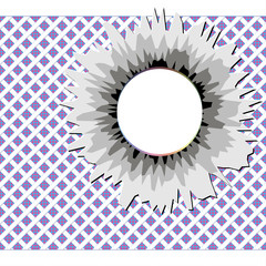 Abstract background with hole for text, vector illustration
