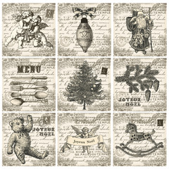 Collection  Carte de Noël