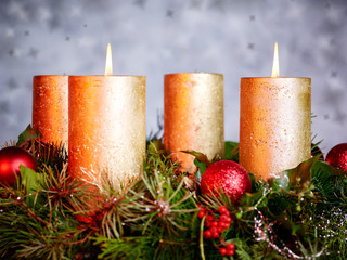Second Advent Candle