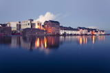 High tide on the river in Galway. - 74017643