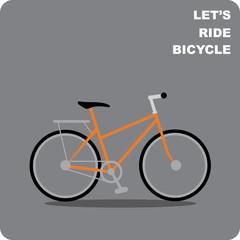 Bike with seat