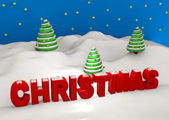 Christmas - 3D