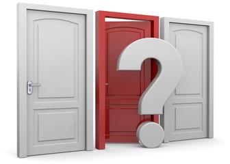 Choosing a Door - 3D