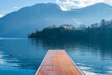 Lago di Como e Isola Comacina