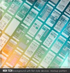 Modern high tech background design
