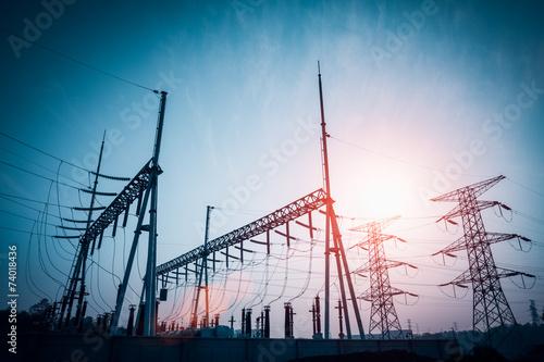 power distributing substation - 74018436