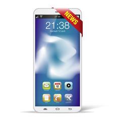 smartphone blanc