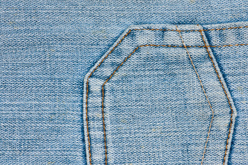 Denim Jeans Pocket