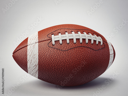 canvas print picture football ball