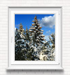 canvas print picture - Fenster 9