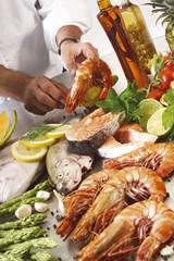 Seafood, verschiedenes, Meeresfrüchte