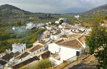 Paisaje de la Subbética, aldea de Zagrilla, Córdoba, España