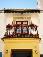 Andalusian house, Ronda, Málaga, Spain