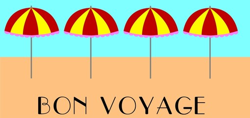 bon voyage background