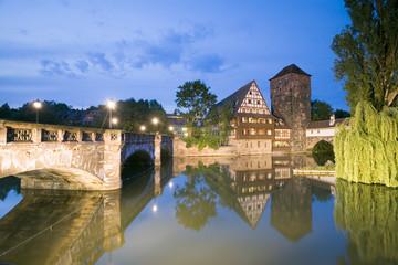Deutschland, Nürnberg, alter Wasserturm