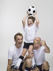 Deutsche Fußballfans, Portrait