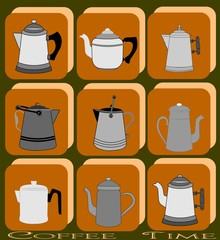 coffee pot background