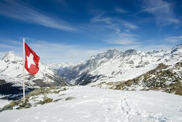 Schweiz, Wallis, in den Alpen
