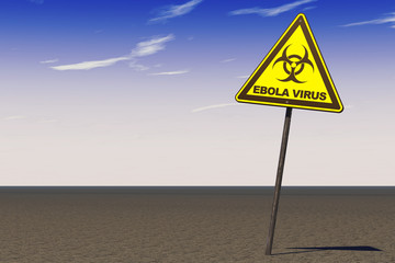 Ebola Virus Warning Sign