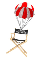 Parachute with Crisis Manager Chair