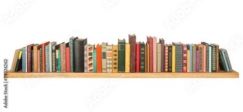 Leinwanddruck Bild Books