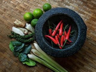 Thai Food : Seasoning ingredients of Tom-Yum - 02