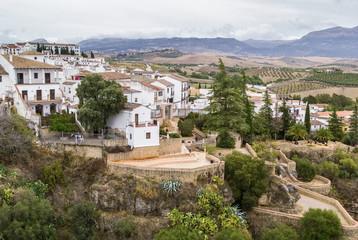 view of Ronda, Spain