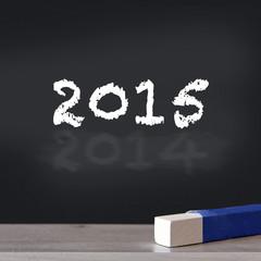 2015 über 2014 an tafel