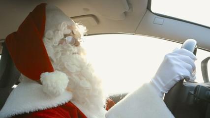 Santa Driving - Traffic Jam