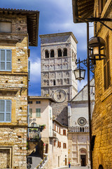 medieval Assisi, Umbria, Italy