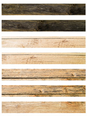 Isolate Wood plank brown