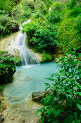 water fall , erawan kanchanaburi thailand