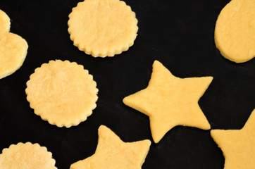 baking cookies and biscuits for christmas