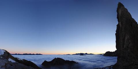 Amanecer en los Pirineos
