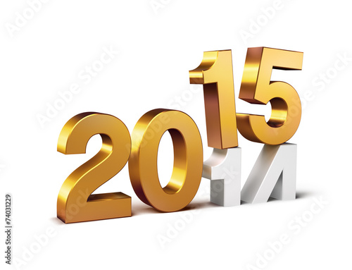 canvas print picture 2015 new year sign