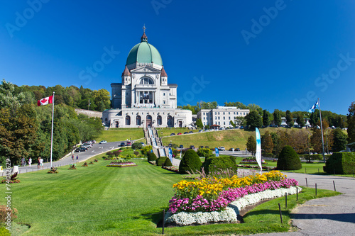 Foto op Plexiglas Canada The Saint Joseph Oratory in Montreal, Canada is a National Histo