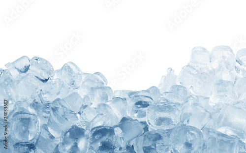 Fotobehang Water Ice cubes
