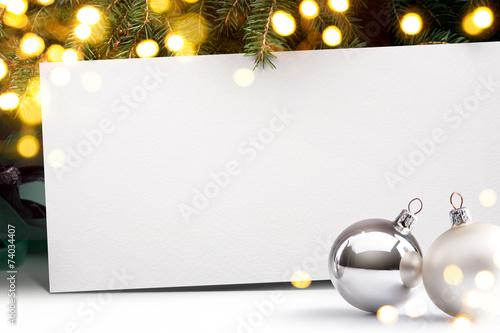canvas print picture Art Christmas invitation background