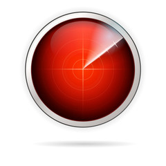 Icon for red radar
