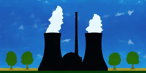 g1 InfoGrafik - nuclear power plant - Kernkraftwerk 2to1 g2660