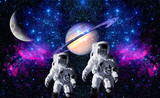 Astronauts Space Planet Moon