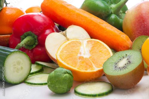 canvas print picture Basische Ernährung