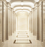 Fototapety Entrance hall in classic style