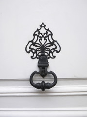 Decorative antique door handle