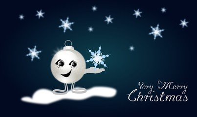 Very Merry Christmas bulb