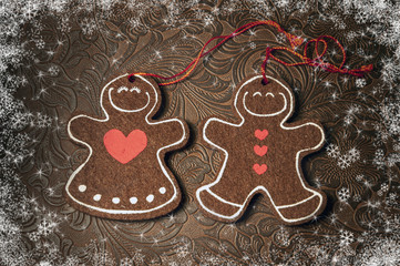 Christmas decoration - cookies. New year 2015.