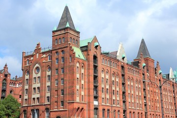 Hamburg, Germany - Warehouse district